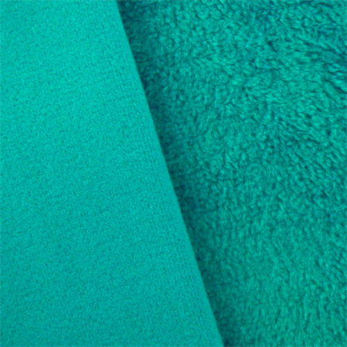 Turquoise Double Sided Shag Fleece, Fabric By the Yard