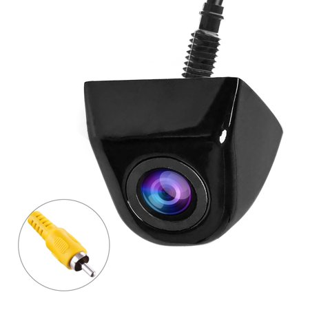 Front Cmos Camera - EEEkit Waterproof IP68 Night Vision 170 Degree Car Rear View/Reversing/Reverse Camera Universal Color CMOS Imaging Chip Backup Parking HD Front View Camera