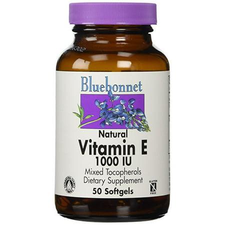 Bluebonnet - Vitamine E 1000 UI