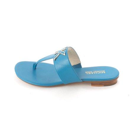 b4578f402e3f MICHAEL Michael Kors - Michael Kors Women s Hayley Thong Slide Sandals -  Walmart.com