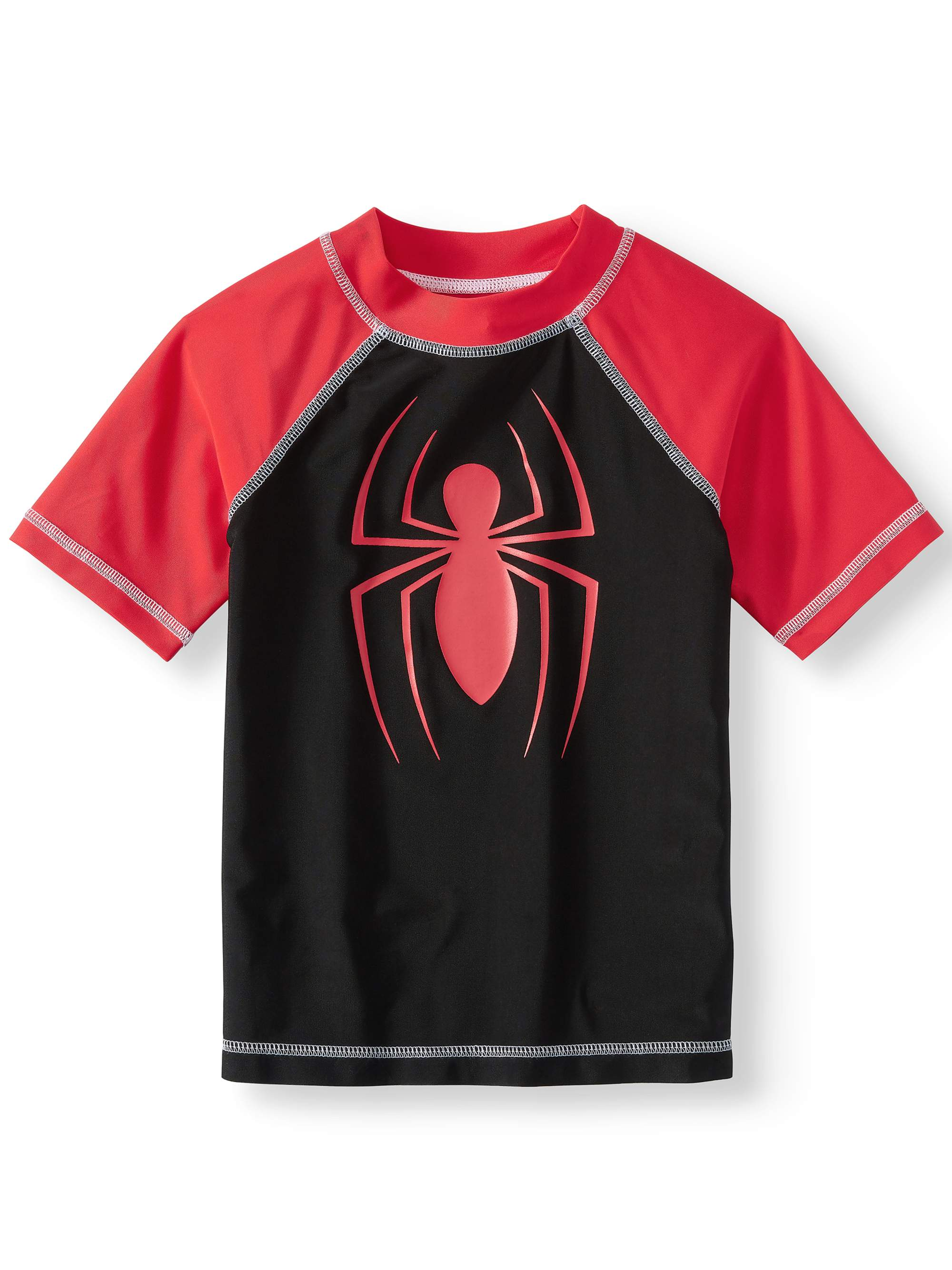 Short Sleeve Spiderman Rash Guard (Little Boys)