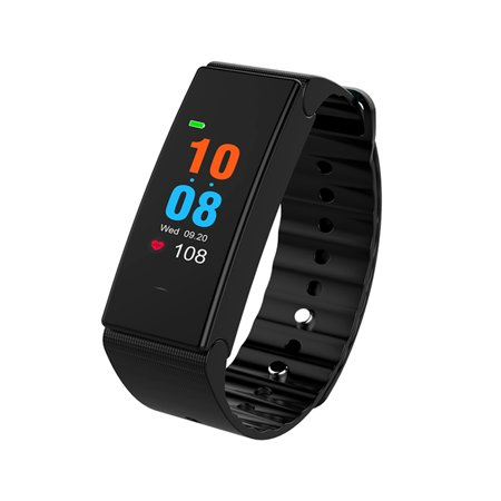 Color Screen Smart Watch Sports Bracelet Sports Wristband Fitness Workout Distance Tracker Sleeping Heart Rate Monitor Blood Pressure Test (Best Workout Heart Monitor)