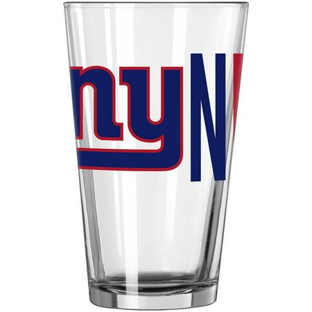 New York Giants 16oz. Overtime Pint Glass - No Size