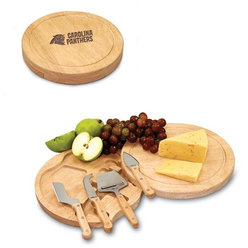 Carolina Panthers Circo Cheese Board & Tool Set - No Size