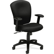 basyx by HON VL220 Series Mid-Back Task Office Chair, Black