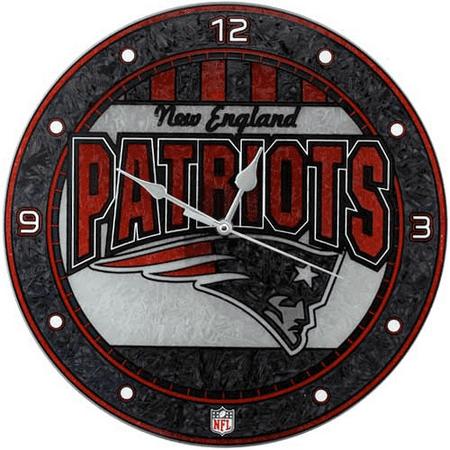 New England Patriots Clock (New England Patriots 12