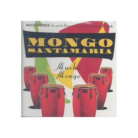 MUCHO MONGO contains 2 previously released CDs: SOCA ME NICE (1988)/OLE OLA (1989).Personnel: Mongo Santamaria (conga, bongos); Humberto