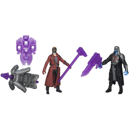 Marvel Guardians Of The Galaxy 2-Pack Star-Lord And Ronan Action