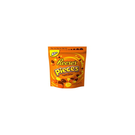 Reese's Pieces Peanut Butter Candy, 48 Oz - Reese Pieces Halloween Size