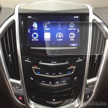 2013-2017 Cadillac SRX / XTS / CTS Screen Saver 1pc Custom Fit Invisible High Clarity Touch Display Protector Minimizes Fingerprinting CUE 8 Inch