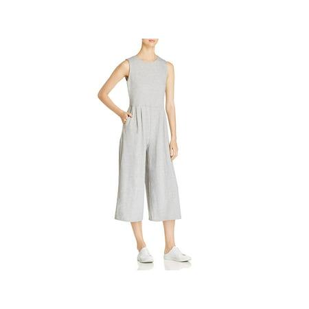 Organic Cotton Jumpsuit (Eileen Fisher Womens Petites Organic Cotton Sleeveless Jumpsuit)