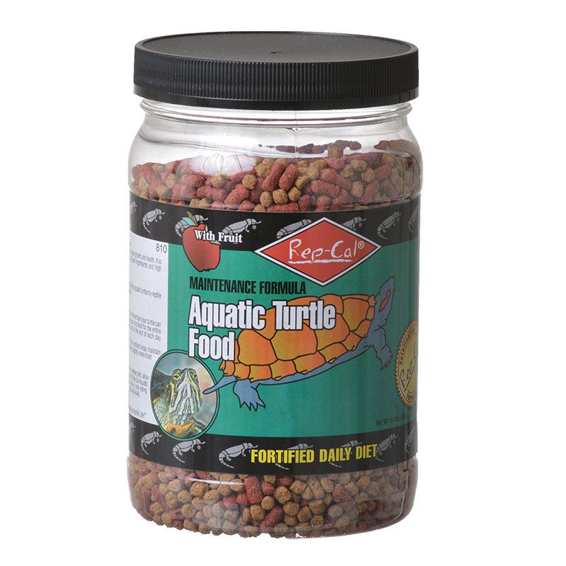 Rep Cal Aquatic Turtle Food 15 oz Pack of 10 by