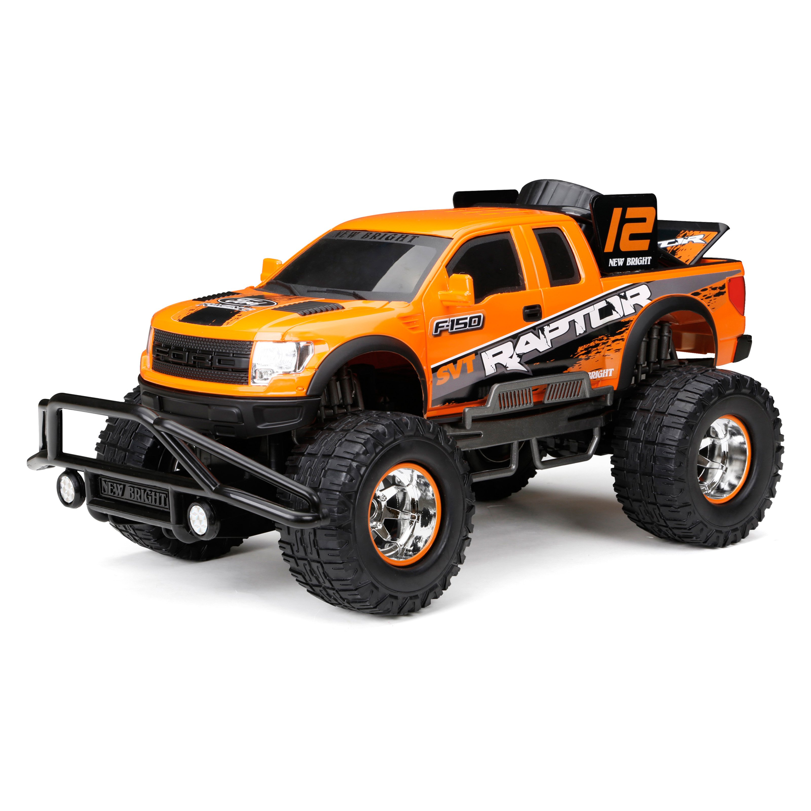 New Bright 110 Baja Extreme Ford F-150 Raptor Radio Controlled Toy - Walmart.com  sc 1 st  Walmart : ford raptor remote control car - markmcfarlin.com