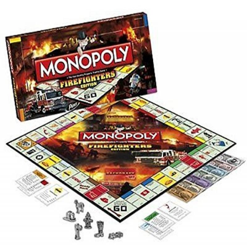 Monopoly: Firefighters Edition by