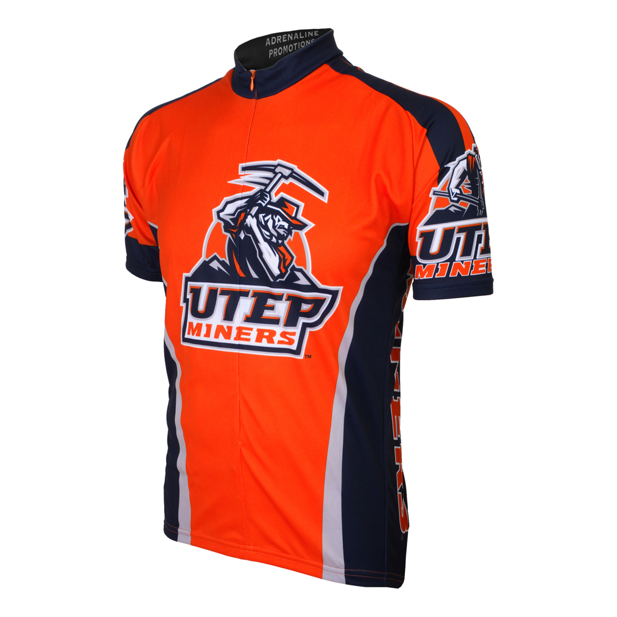 Adrenaline Promotions University of Texas at El Paso Miners Cycling Jersey