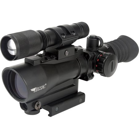 BSA Tactical Weapons 30mm Red Dot with Red Laser and 140 Lumen Light