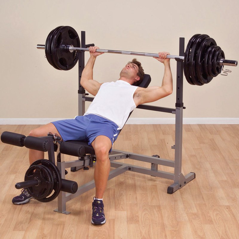 Body-Solid GDIB-46L Power Center Combo Bench
