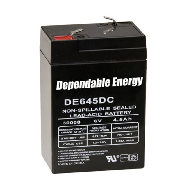 American Hunter GSM-DE-30008 6V 4. 5 Amp HR Rechargeable Battery