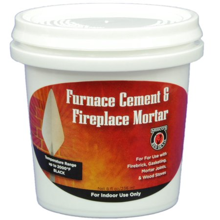 MEECO'S RED DEVIL 1352 Furnace Cement and Fireplace Mortar, Pre - mixed, ready-to-use high temperature silicates. By MEECOS RED