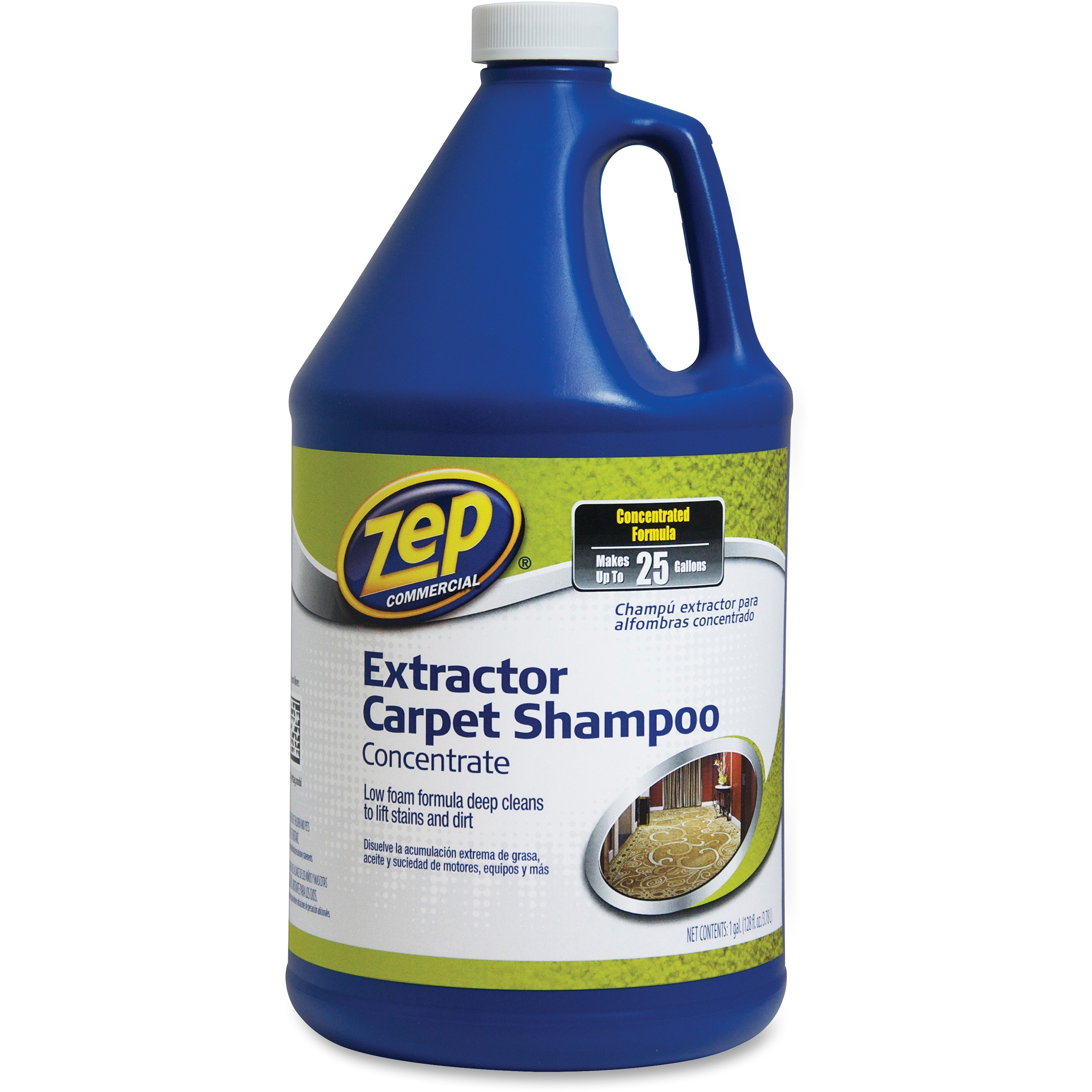 Zep Commercial, ZPE1041690, Extractor Carpet Shampoo Concentrate, 1 Each, Blue