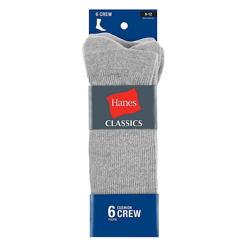 Hanes Mens Comfortblend Lightweight Casual Dress Socks P6