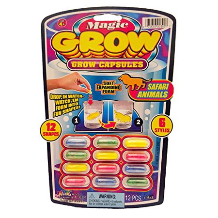 Magic Grow Capsules Party Favor Bundle Pack - 6 Pack - ALL Different! - image 3 of 4