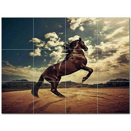 Horse Picture Ceramic Tile Mural Kitchen Backsplash Bathroom Shower 40