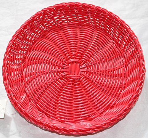 Nantucket Home Bright Woven Polypropylene Paper Plate Holder (Hot Pink) & Nantucket Home Bright Woven Polypropylene Paper Plate Holder (Hot ...
