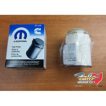 2010-12 Dodge Ram 2500-5500 6.7L Cummins Turbo Diesel Fuel Filter Mopar OEM 3500 Cummins 6.7l Filter