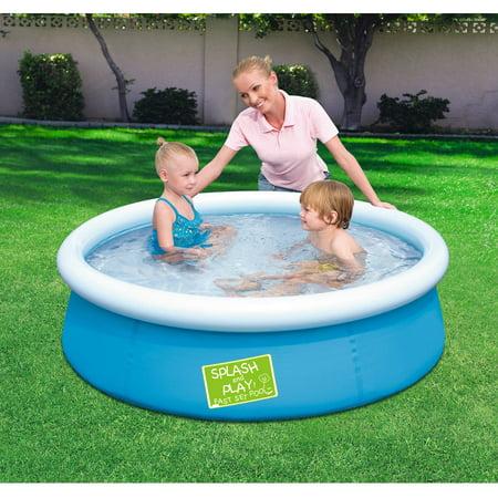 Upc 821808005932 above ground round baby kiddie swimming for Above ground swimming pools for kids