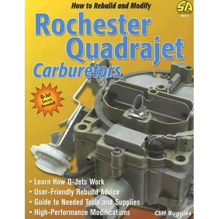 How to Rebuild & Modify Rochester Quadrajet (Quadrajet Rebuild)