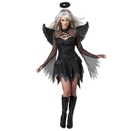 Fallen Angel Make Up (Sexy Black Fallen Angel Dress Costume)