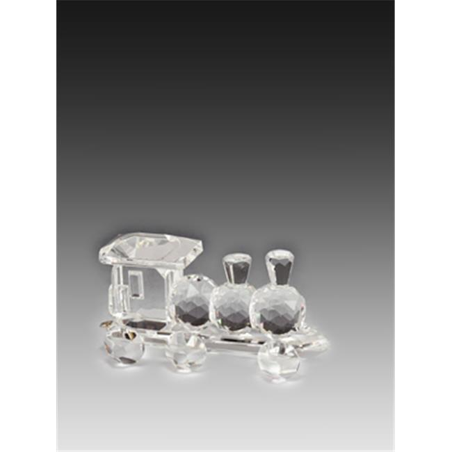 Asfour Crystal 206 3.22 L x 1.57 H in. Crystal Train Engine Transportation Figurines - image 1 of 1