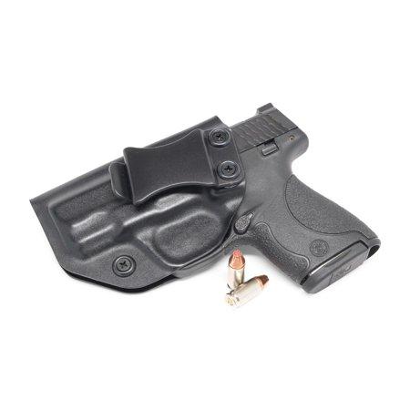 Concealment Express: Black KYDEX IWB Gun Holster (S&W J-Frame 442/642, LH  Draw (IWB))