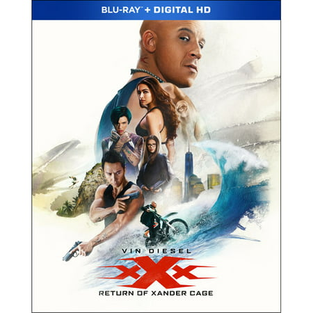 Xxx  Return Of Xander Cage  Blu Ray   Dvd