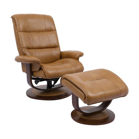 Parker House Knight Swivel Recliner and Ottoman (Parker House Rolls)