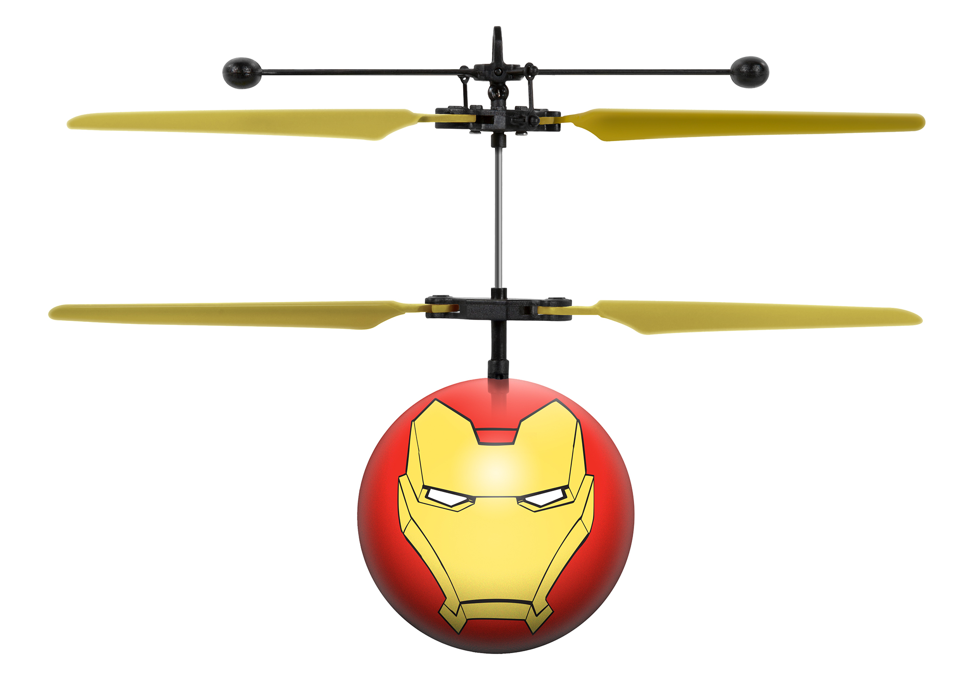 Marvel Avengers Iron Man IR UFO Ball Helicopter by World Tech Toys
