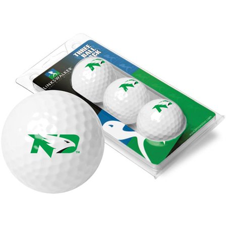 LinksWalker LW-CO3-UND-GBS North Dakota Fighting Hawks-3 Golf Ball Sleeve - image 1 de 1