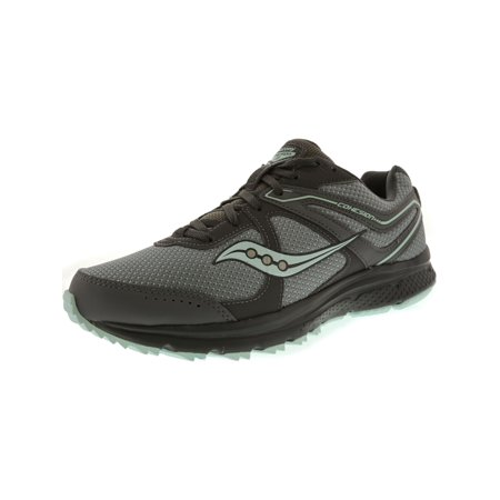 Saucony Women's Grid Cohesion Tr 11 Grey / Mint Ankle-High Trail Runner - 10W (Saucony Grid Type)