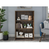 Mainstays Heritage 3-Shelf Bookcase, Canyon Walnut