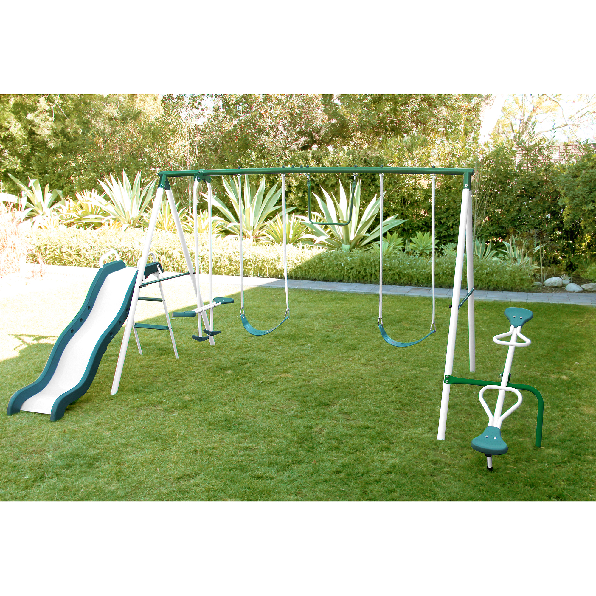 model swing metal sets fun walmart patio canada