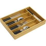 Home Basics Cutlery Tray, Bamboo