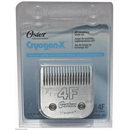 Original OSTER Blade Size 4F CryogenX AgiON 78919-186 Cut 3/8