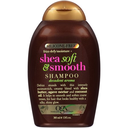 OGX Shea Soft & Smooth Shampoo, 13.0 FL OZ