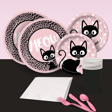 Kitty Cat Diva Party Pack for 8 - Kitty Party