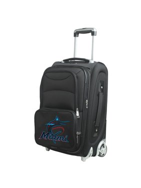 "Miami Marlins 21"" Rolling Carry-On Suitcase - No Size"