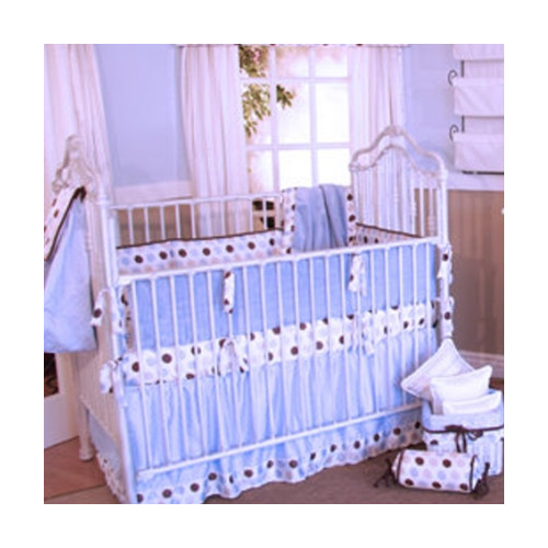 Brandee Danielle Ash 4 Piece Crib Bedding Set