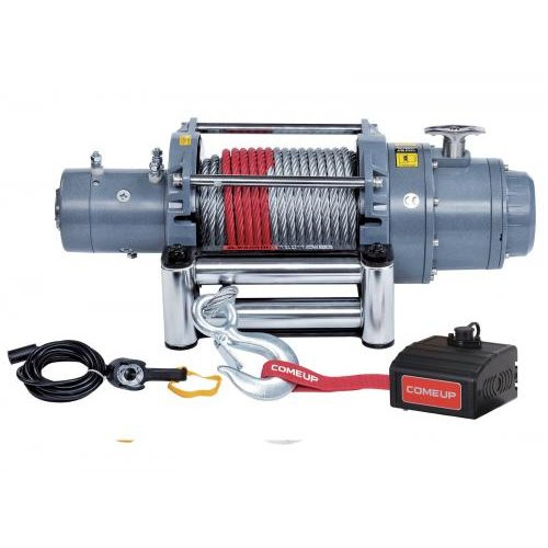 Comeup 857133 12,000 lbs. 5.6HP SELF RECOVERY WINCH DV-12 USA / 12V, W/ CH