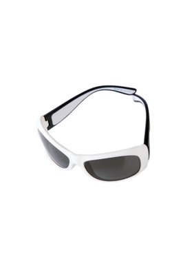 JBFBK Junior Flexerz Sunglasses, Black & White