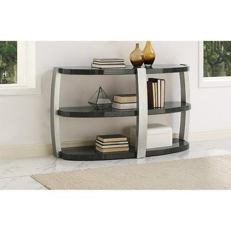 Orbit Faux Granite Sofa Table